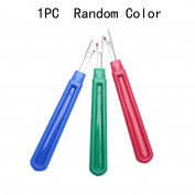 Dophee Seam Ripper Stitch Unpicker Quick Unpick Sewing Thread Cutter Plastic Handle 1pc