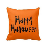 Happy Halloween Pillow Case Sofa Waist Throw Cushion Cover Home Decor