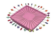 Pink Zirkel Magnetic Pin Cushion - 100 Splendid Spear Pins Tin by Patty Young Included