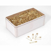 Size Number 00 Gold Small Safety Pins Bulk 1.9cm 1440 Pieces Premium Quality
