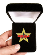Velvet presentation Box - Rockstar At Work Lapel Pin