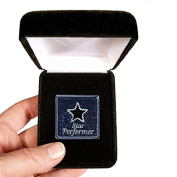 Velvet presentation Box - Star Performer Lapel Pin