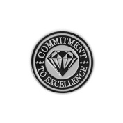 None - Commitment to Excellence Lapel Pin