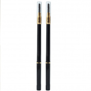 2x Women Waterproof Automatic Eyebrow Pencil With Brush Make-up Cosmetic kits