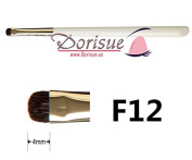 DorisueF12 Short Shader Brush eyeshadow brush Makeup Brushes smokey eye tail end Hot