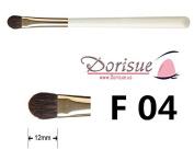Dorisue F04 Vicuna hair Concealer All-Over Shadow Brush Eye Brushes Makeup Brush Flat round head medium long