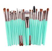 Gillberry 20 pcs Makeup Brush Set tools Make-up Toiletry Kit Wool Make Up Brush Set