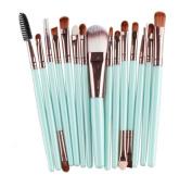Gillberry 15 pcs Makeup Brush Set tools Make-up Toiletry Kit Wool Make Up Brush Set