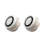 SIO 2 PCS Compatible Replacement Facial Cleansing Brush Heads Radiance Cleansing Systems Sensitive Brush