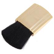 SelfTek Small Flat Brush Lady Powder Blush Brush with Gold Handle