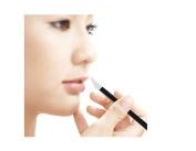 100 Pcs Disposable Lip Brush With Black Handle Make Up Lipstick Gloss Wands Applicator Perfect Make Up Tool