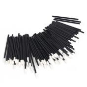 Women Accessories 100 x Disposable Lip brush Gloss Wands Applicator Perfect Best Make Up Tool