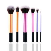 Niwota Professional 6pcs Makeup Brushes Set