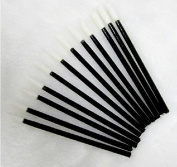 100 pcs Disposable MakeUp Lip Brush Lipstick Gloss Wands Applicator Perfect Make Up Tool
