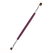Shari Professional Makeup Brush kabuki Pink Plastic Comestic Eyeshadow & Oblique Eyebrow Brush