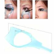 3in1 Mascara Applicator Guide Tool Eyelash Comb Makeup