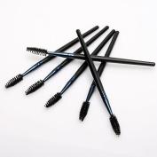 10 Disposable Mascara Eyelashes Brushes Wand Applicator