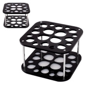 Docolor 20 Hole Makeup Brush Holder Tree Stand Accessories Air Drying Rack Organiser Cosmetic Shelf Tools
