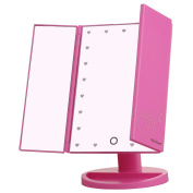 Miss Sweet LED Tri-fold Table Mirror 1800cm