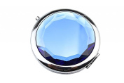 LOUISE MAELYS Mini Foldable Cosmetic Makeup Mirror Compact Mirrors for Travel