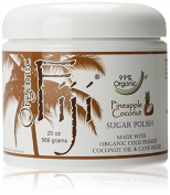 Organic Fiji Sugar Polish, Pineapple Coconut, 590mls by Organic Fiji