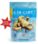 Gin Gins Peanut Chewy Ginger Candy By The Ginger People by Ginger People