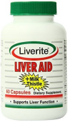 Liverite Liveraid Capsules, 60 Count by Liverite