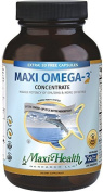 Maxi-Omega-3 concentrate Certified Kosher Fish Oil, 180-Capsules by Maxi