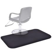 Giantex Black Rectangle 1.5mx0.9m Barber Salon Anti Fatigue Floor Mat Beauty Supplier