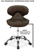 Esthetician Technician Stool UMI COFFEE Chair for Spa Salon or Office