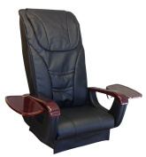 Florence MagnaJet Pipless Pedicure Spa Massage Chair with Free Stool