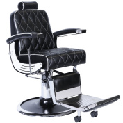 G6 Professional Reclining Barber Chair BC-88BLK