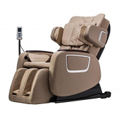 New Cashmere Full Body Zero Gravity Shiatsu Massage Chair Recliner 3D Massager Heat