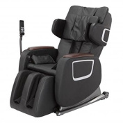 New Black Full Body Zero Gravity Shiatsu Massage Chair Recliner 3D Massager Heat
