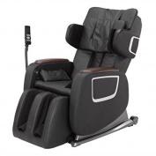 New Black Full Body Zero Gravity Shiatsu Massage Chair Recliner 3D Massager Heat