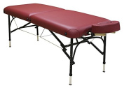 Custom Craftworks Challenger Aluminium Frame Portable Masseuse Massage Table