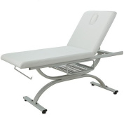 Mirro Two Section Treatment Table With Sturdy Frame And Adjustable Backrest USA Salon and Spa USA-2243