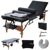 Apontus Premium All Inclusive Complete Portable Massage Table Package