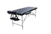 ExacMe Aluminium Portable Massage Table Bed Spa W/Carrying Case - Black