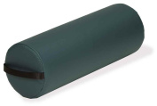Jumbo Cylinder Bolster w Strap Handle & Zippered Cover