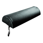 Sivan Health and Fitness Half Round Black Massage Table Bolster