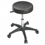 Comfort and Durable Salon Stool with Plastic Base