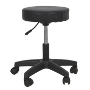Eastmagic New Hydraulic Tattoo Salon Stool Massage Facial Spa Beauty Chair Black
