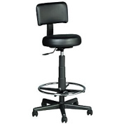 KAYLINE Haircutting Stool with Back (Model