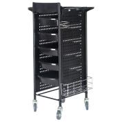 Apontus Salon Trolley Storage Drawer Cart Tray