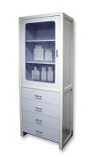 Exquisite Spa Storage Cabinet with 4 Sliding Drawers- Space Saver