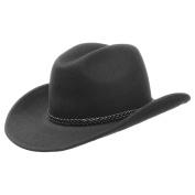 Western / Cowboy Hat plus Federnband 30645