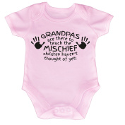 123t Baby Grandpas Are There To Teach The Mischief Children Haven't Thought Of Yet Babygrow