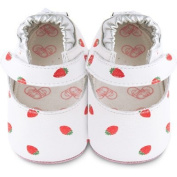 Baby slippers Shooshoos - Strawberry Patch Booties