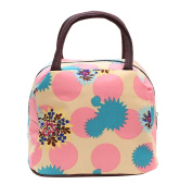 Wowlife Flower Lunch Bag Tote Bag Lunch Organiser Lunch Holder Lunch Container Reusable Lunch Bags